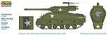 Caça Tanque Americano 90mm Gun Motor Carriage M36B1 1/35 Italeri - Imagem 2