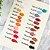 Multifuncionais Tons de Laranja e com brilho (cores avulsas) - Imagem 7