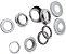 Movimento Central Neco 45mm Zinco com Colar 10 pcs - Imagem 1