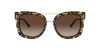 Giorgio Armani AR6090 Pale Gold/Top Havana Black Lentes Brown Gradient - Imagem 2