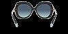 Tiffany TF4169 Black Lentes Azure Gradient Blue - Imagem 4