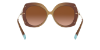 Tiffany TF4169 Camel Lentes Brown Gradient - Imagem 4