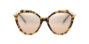 Tiffany TF4173B Yellow Havana Lentes Brown Gradient Silver Mirror - Imagem 2