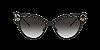 Dolce & Gabbana DG2239 Black Lentes Grey Gradient - Imagem 2