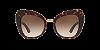 Dolce & Gabbana DG4319 Havana Lentes Brown Gradient - Imagem 2