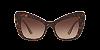 Dolce & Gabbana DG4349 Havana Lentes Brown Gradient - Imagem 2