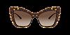 Dolce & Gabbana DG4364 Havana Lentes Brown Gradient - Imagem 2