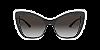 Dolce & Gabbana DG4364 Top Crystal On Black Lentes Grey Gradient - Imagem 2