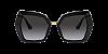 Dolce & Gabbana DG4377 Black Lentes Grey Gradient - Imagem 2