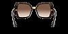 Dolce & Gabbana DG4377 Havana Lentes Brown Gradient - Imagem 4