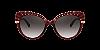 Dolce & Gabbana DG6135 Transparent Dark Red Lentes Grey Gradient - Imagem 2