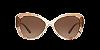 Michael Kors MK2120 POSITANO Khaki Tie Die Lentes Brown Gradient - Imagem 2