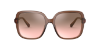 Bvlgari BV8228B Transparent Brown Lentes Light Pink Mirror Grad Silver - Imagem 2