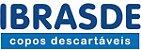 COPO DESCARTÁVEL IBRASCOPO  300ML C/100 BRANCO - Imagem 2
