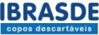COPO DESCARTÁVEL IBRASCOPO 50ML C/100 BRANCO - Imagem 2