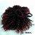 Cabelo de Fibra Sintética Cacheado – Cherey  - Coque Afro Puff - Imagem 9