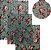 Pano de Mel Floral Azul Kit com 4 - Imagem 1
