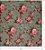 Pano de Mel Floral Azul Kit com 4 - Imagem 5