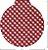 Pano de Mel Xadrez Vermelho Kit com 4 - Imagem 3