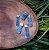 Pingente de Cianita Azul (Prateado) - Imagem 1