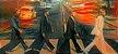 Placa Decorativa ( Beatles 01) em Cerâmica Tamanho A3 - (297mmx420mm) - Imagem 1