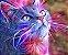 Placa Decorativa (Gato 01) em Cerâmica Tamanho A3 - (297mmx420mm) - Imagem 1