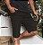 Bermuda Masculina Sarja Preta 4555 - Imagem 1