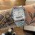 Relógio Casio Analógico Numeral Prata Fundo Branco AQ-230A-7BMQ - Imagem 2