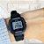 Relógio Casio Mini Preto com Detalhe Azul Borracha LA-20WH-1C - Imagem 2