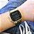 Relógio Casio Preto com Detalhe Dourados na Caixa A168WEGB-1BDF - Imagem 2
