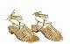 Sandália Fios - Ouro - Imagem 1