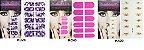 Adesivo de Unha Inteira - 12 peças cada cartela - Imagem 8