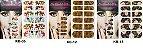 Adesivo de Unha Inteira - 12 peças cada cartela - Imagem 2