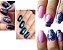 Unhas de Glitter Losango 3D - Imagem 6
