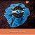 Heaband Coroa de Flores Azul - Imagem 1