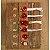 Headband Coroa de Flores Vermelha - Imagem 1