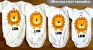 Kit Body Bebê 5 Peças Sweet Summer - Trenzinho - Imagem 3