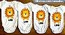 Kit Body Bebê 3 Peças Roar Leao - Trenzinho - Imagem 3