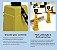 Cone Sinalizador Atenção Uso de Máscara Completo Bralimpia - Imagem 3