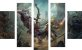 Mosaico Decorativo - World of Warcraft - Sylvanas vs Anduin - Imagem 1