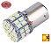 LAMPADA 50 LED BAY15D 2 POLO P21/5W 1157 1034 LARANJA 24V - Imagem 1