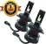 Kit Super Led Plus Ultra Cinoy 12v 24v HB3 9005 HB4 9006 - Imagem 1