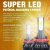 "Kit Super Led Code Tech One 12v 24v H11 H8 H9 H16 ""Cachimbo"" 6000K - Imagem 3"