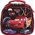 Lancheira Soft Disney Carros Preta com Porta Lanches e Squeeze - Imagem 1