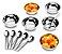 Conjunto para Sobremesa 12 Peças Jornata 1636/112 - Brinox - Imagem 2