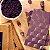 Chocolate 36% Milk Branco Com Açaí - Luzz Cacau 75g - Imagem 1