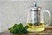 Bule com Infusor de Chá - Inox - Imagem 1