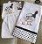 kit Bate mão  + Pano de Prato com bordado galinha d'angola  - Imagem 1
