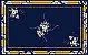 Toalha de Mesa Lara  (Azul Ibisco) - Tecido com Impermeabilidade - Imagem 4