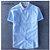 camisa social manga curta lisa - Imagem 3